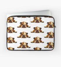 Englische Bulldogge - faules Tier Laptoptasche