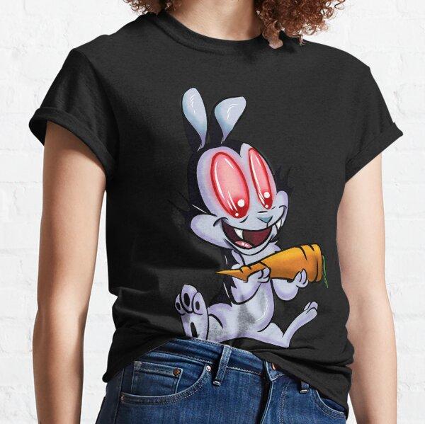 Rabbit Vampire Cartoon Classic T-Shirt
