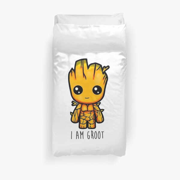 I Am Groot - Guardians Of The Galaxy Duvet Cover