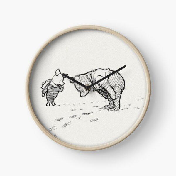 Winnie the Pooh Sketch Clock