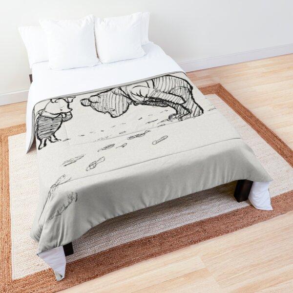 Winnie the Pooh Sketch Comforter