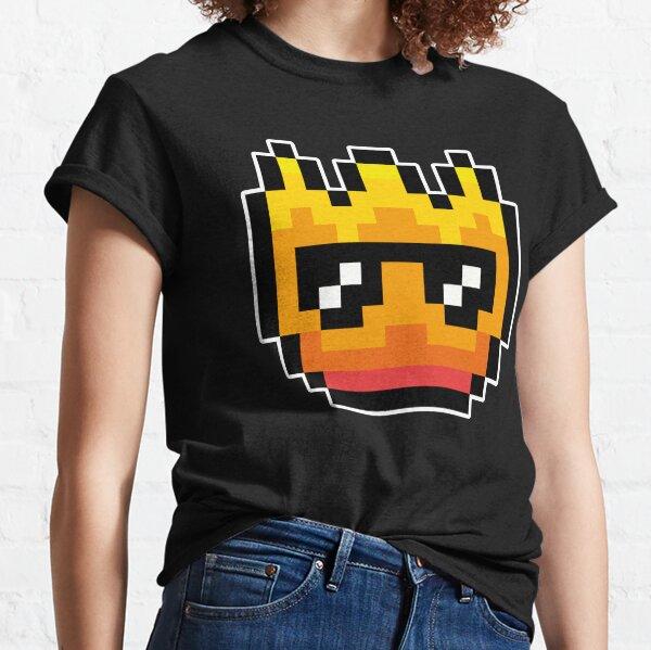 Pixel Cool Fire Classic T-Shirt