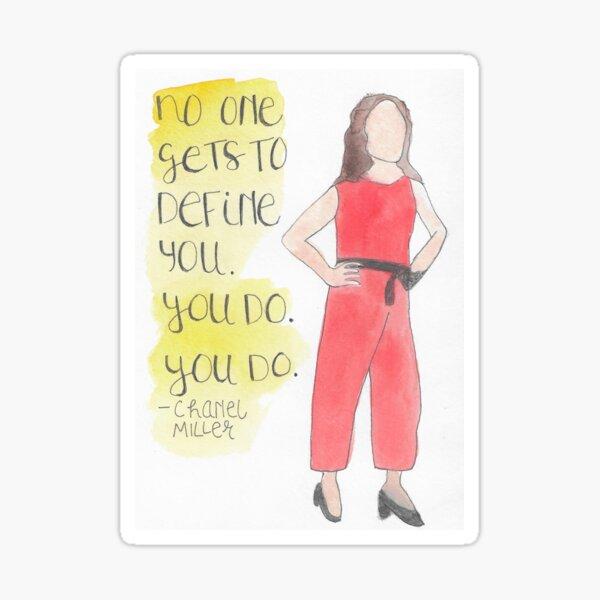 Chanel Miller: Survivor Sticker