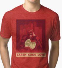 Earth Koko Love Tri-blend T-Shirt