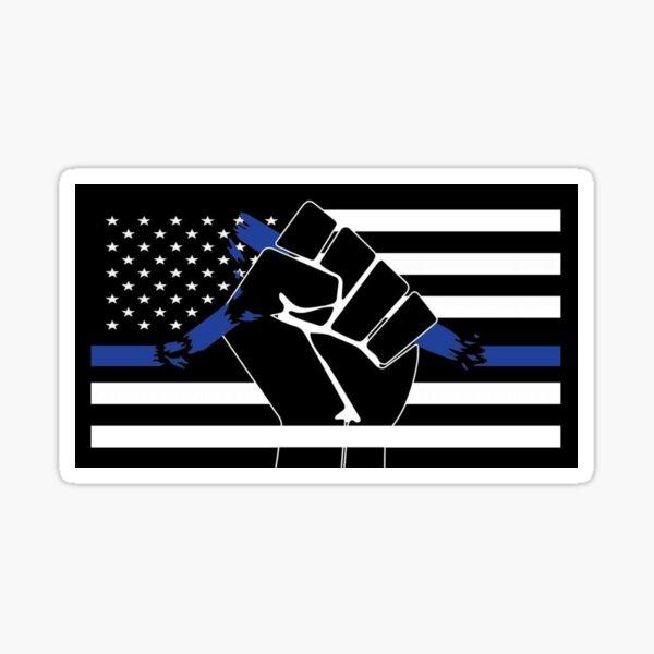 The Thin Blue Line... Sticker