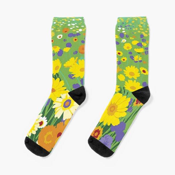 Wildflowers inspired by London 2012 Socks