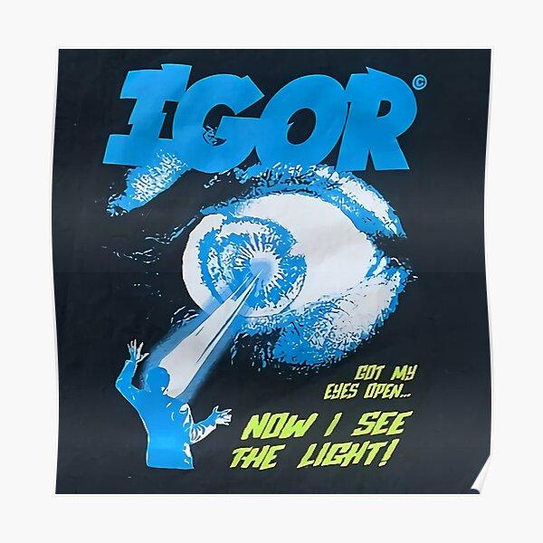 Esthétique Tyler Blue Poster