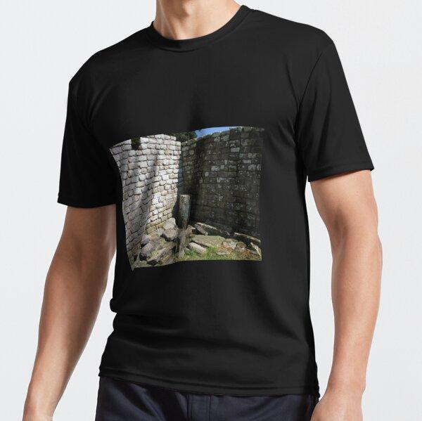 Merch #104 -- Two-Tone Walls (Hadrian's Wall) Active T-Shirt