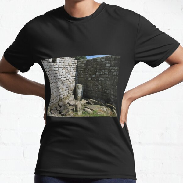 Merch #104 -- Two-Tone Walls (Hadrian's Wall) Active T-Shirt