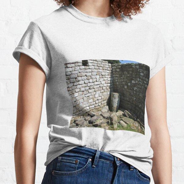 Merch #104 -- Two-Tone Walls (Hadrian's Wall) Classic T-Shirt