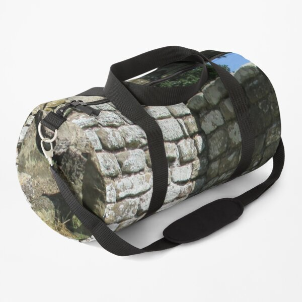 Merch #104 -- Two-Tone Walls (Hadrian's Wall) Duffle Bag