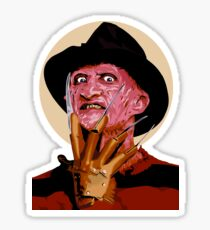 Freddy Krueger - A Nightmare on Elm Street Sticker