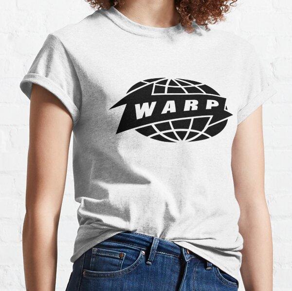 [HAUTE QUALITÉ] Warp Records (version noire) T-shirt classique