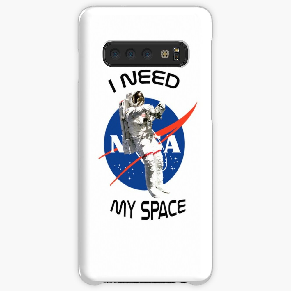 I Need My Space Nasa Case & Skin for Samsung Galaxy