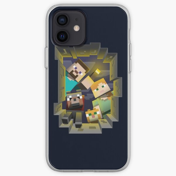 Minecraft Search Party iPhone Soft Case
