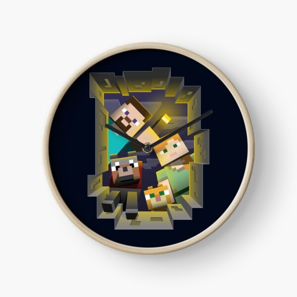 Minecraft Search Party Clock
