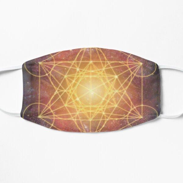 Metatron cube Flat Mask