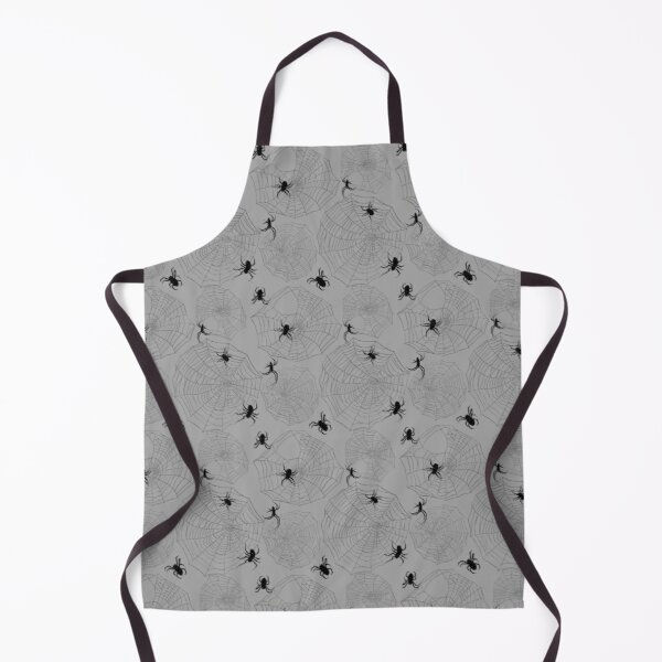 Spiders and Webs Apron