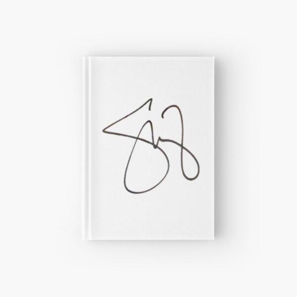 superposition de signature selena gomez Carnet cartonné