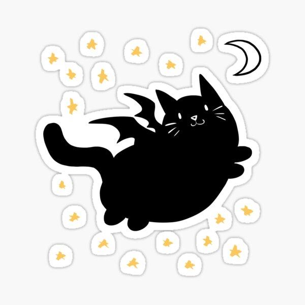 Cat Bat Sticker