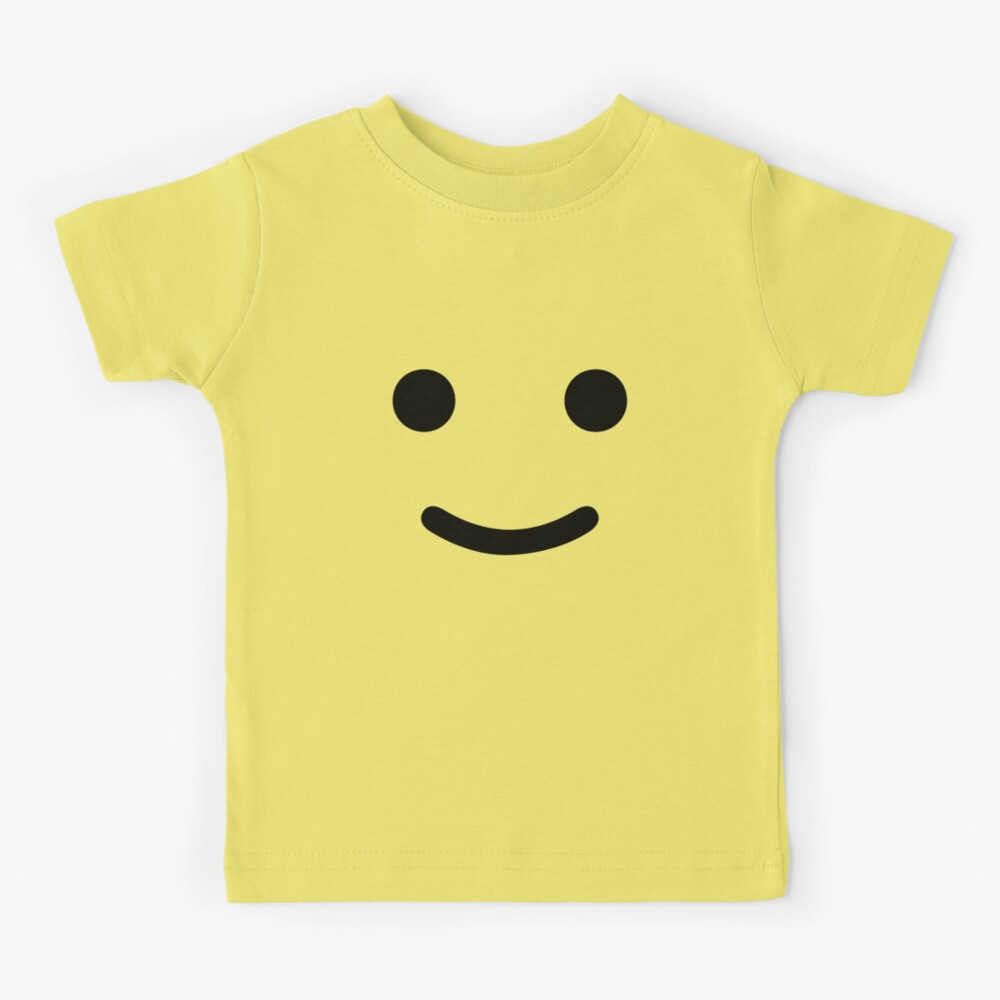 Happy Smiley Face Toy Figure Kids T-Shirt
