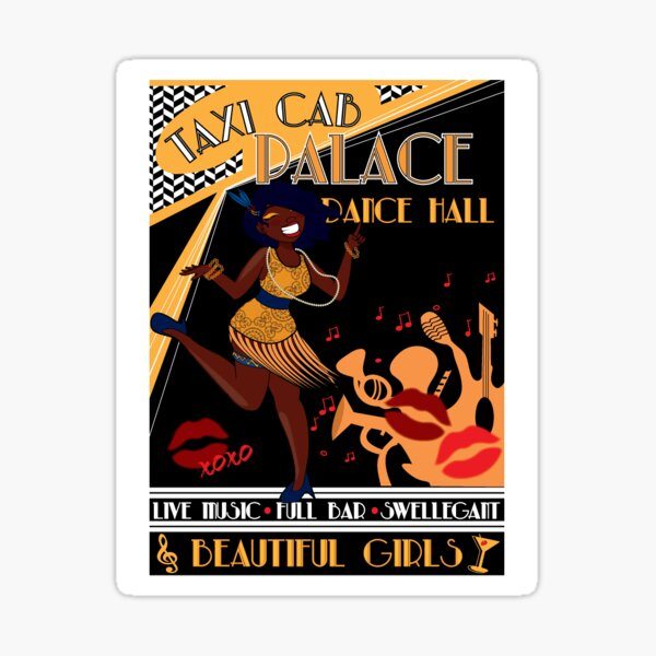 Deco Dance Hall Sticker