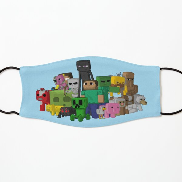 Minecraft characters crew Kids Mask