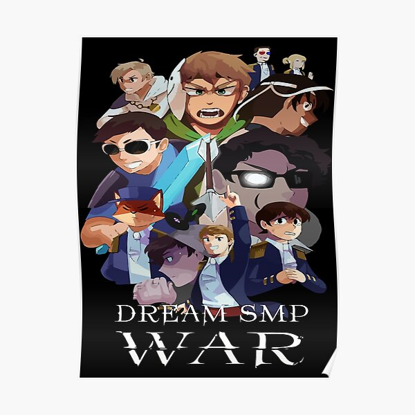 Dream Smp Lmanberg Posters Redbubble