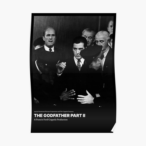 The Godfather Part 2 Film Posters Poster