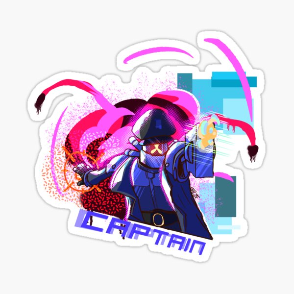 Risk of Rain 2 Captain Sticker