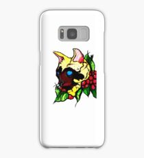 Neotraditional Cat Tattoo Design Samsung Galaxy Case/Skin