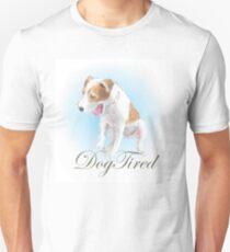 Dog Tired - puppy yawning T-Shirt