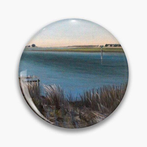 Goolwa South Australia - painting by Avril Thomas Pin