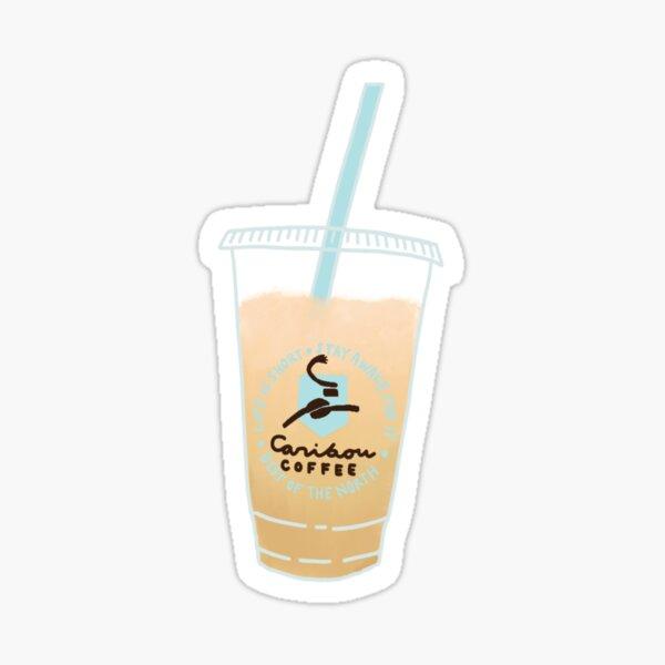 Caribou Iced Coffee  Sticker