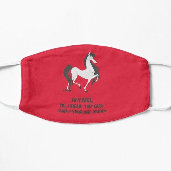 Fergus the Horse: Hey Girl Flat Mask