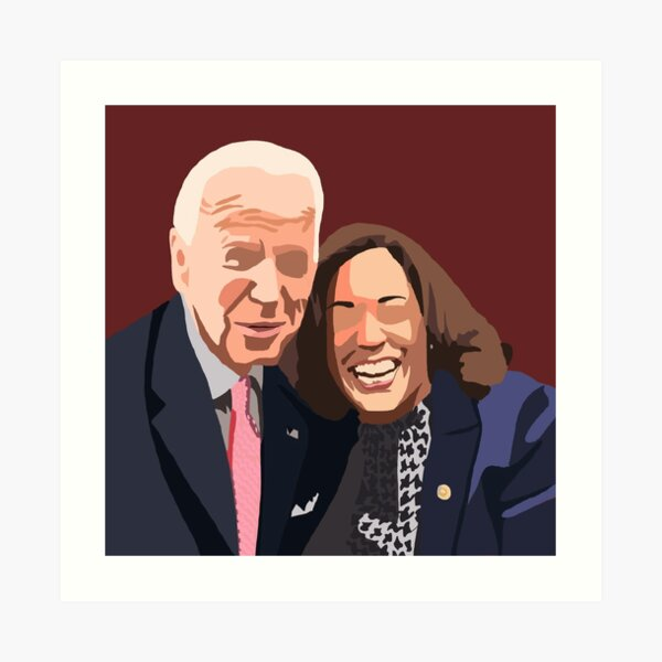 Joe and Kamala Art Print