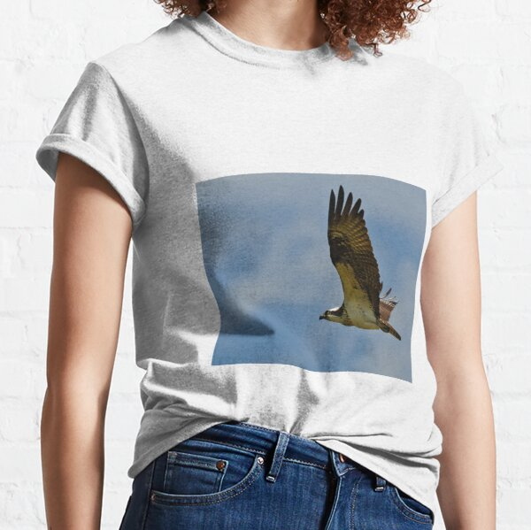 Osprey in flight Classic T-Shirt