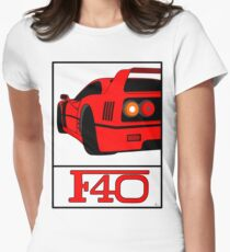 F40 Women's Fitted T-Shirt