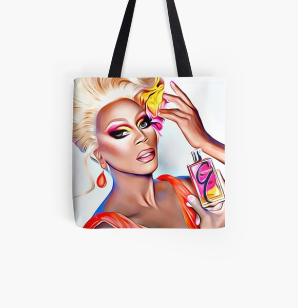 Rupaul (Drag Queen) All Over Print Tote Bag