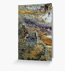 sun scorched pasture Greeting Card