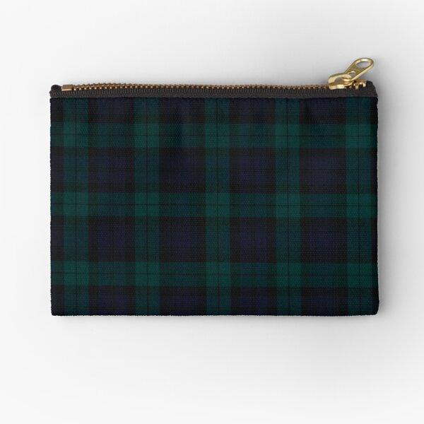 Black Watch Modern - Tartan - Clans of Scotland Zipper Pouch