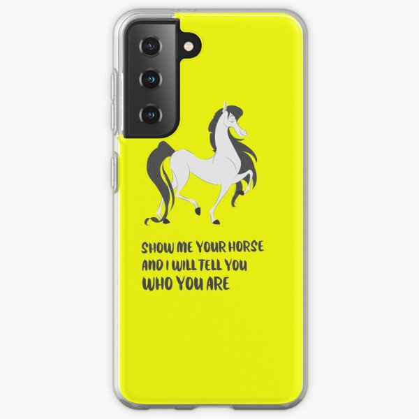 Fergus The Horse Samsung Galaxy Soft Case