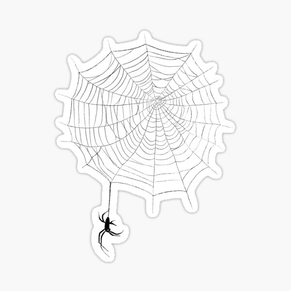 Spiders and Webs Sticker
