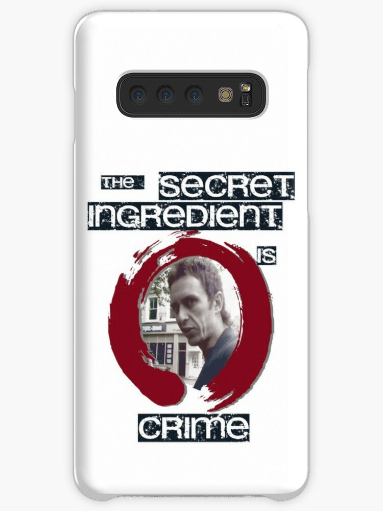 'Super Hans - The Secret Ingredient Is Crime' Case/Skin for Samsung Galaxy  by JMoreaux