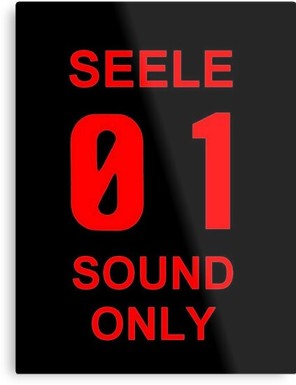 Graphic 01 Only Seele Sound Evangelion q7xwUfaC