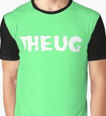 THEUG Black and Green T-Shirt Graphic T-Shirt