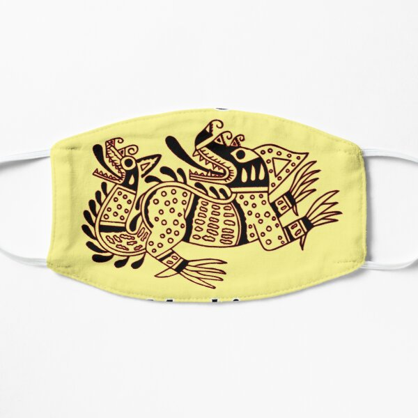 dragon mochica Flat Mask