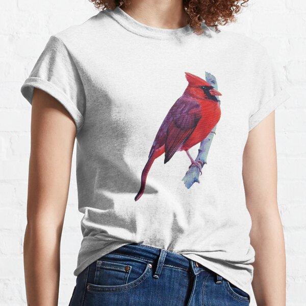 Northern Cardinal (no background) Classic T-Shirt