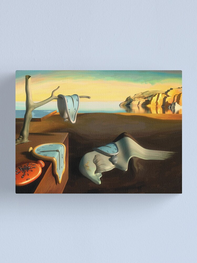 Alternate view of Persistence of Memory Canvas Print