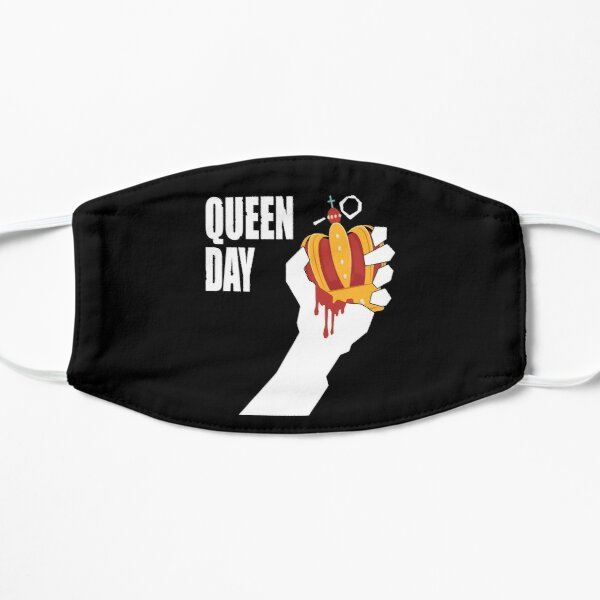 queen day Flat Mask